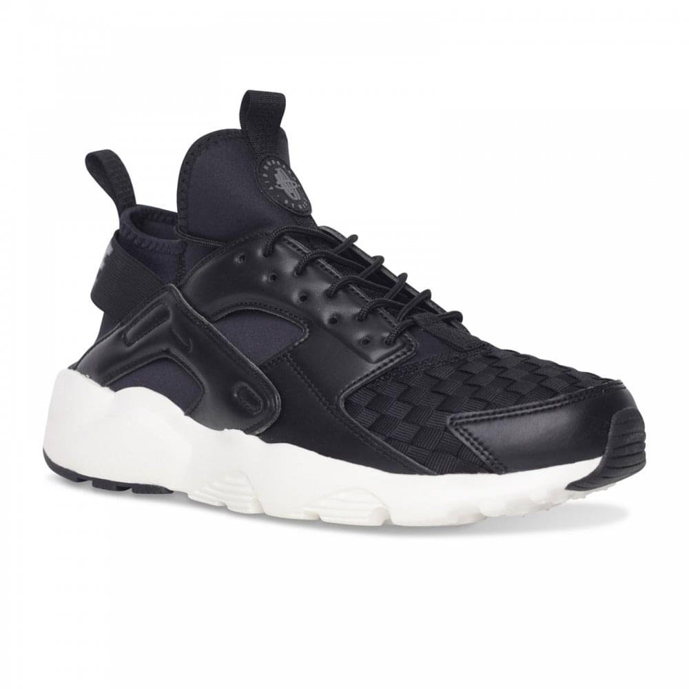 4b11417aeba15 Nike Mens Huarache Run Ultra SE Trainers (Black Grey) - Mens from ...