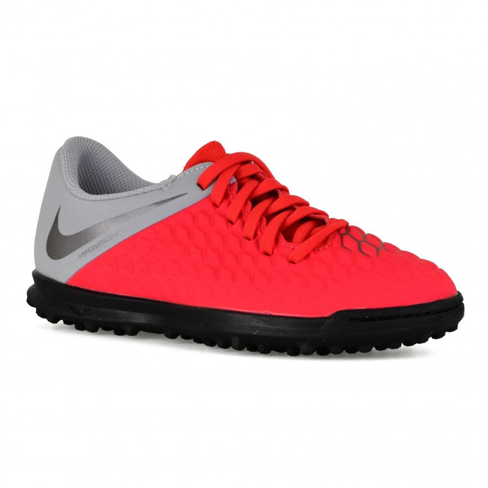 418be7c6360d NIKE Nike Mens Hypervenom 3 Club TF Trainers (Red Grey) - Sports ...