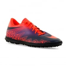 Nike Mens Hypervenom Phade TF11 416 Football Trainers (Total Crimson/Obsidian)