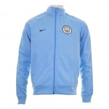 Nike Mens Manchester City 2017/2018 Track Jacket (Blue)