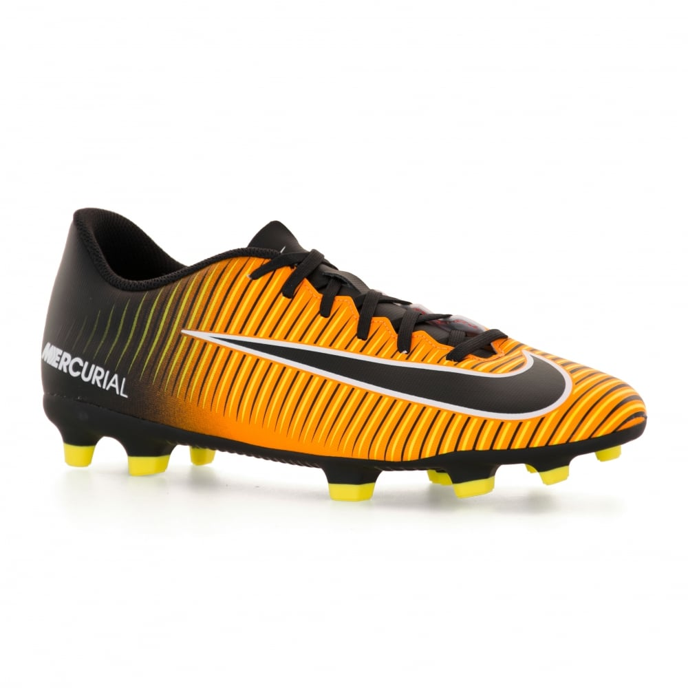 Nike Mens Mercurial Vortex FG Football Boots (Orange)