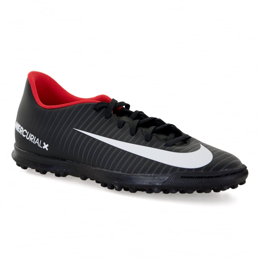 Nike Mens Mercurial Vortex III TF Football Trainers (Black) - Sports ... 7d8ebdf22084e