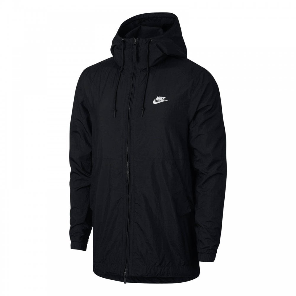 557b2833ff80 NIKE Nike Mens NSW Woven Hooded Jacket (Black) - Mens from Loofes UK