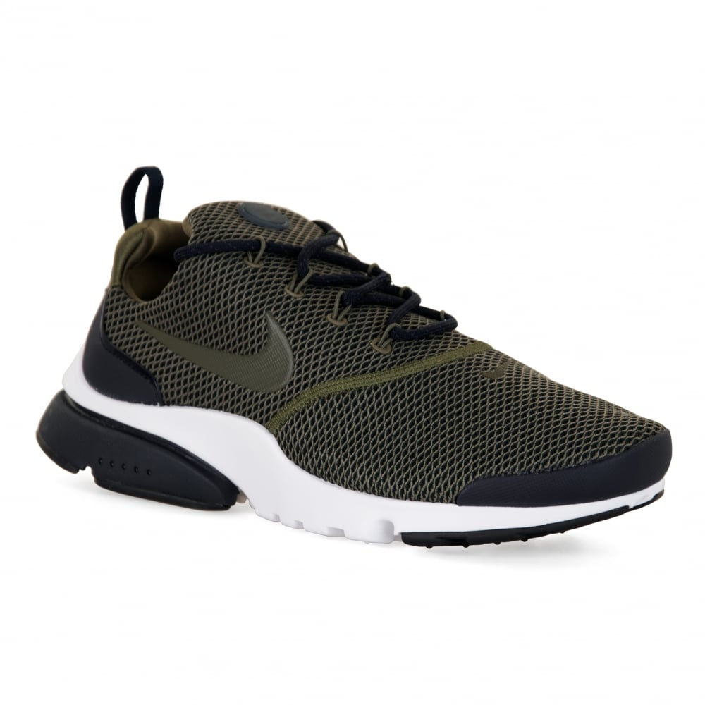 Nike Mens Presto Fly SE 417 Trainers (Olive)
