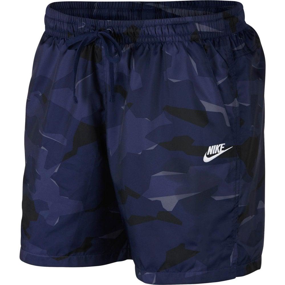 e39a73e5ab5a1 Nike Mens Sportswear Woven Camo Shorts (Navy) - Mens from Loofes UK