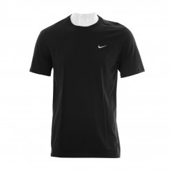 Nike Mens Swoosh Embroidered T-Shirt (Black)