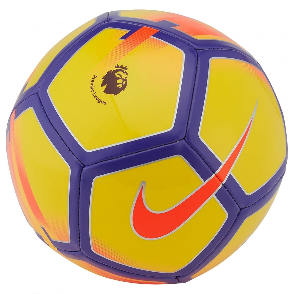 Nike Premier League Pitch 2017/2018 Football (Yellow
