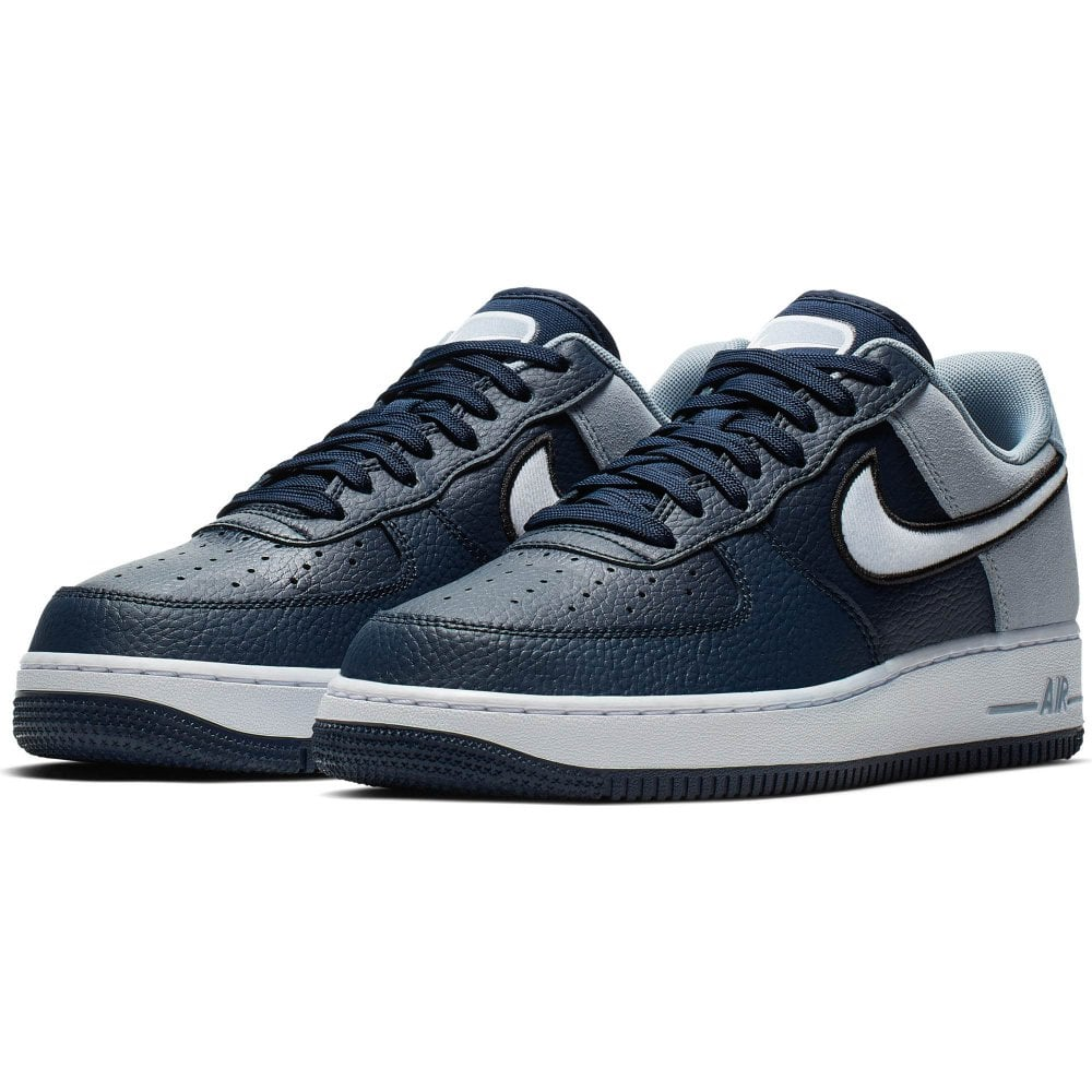 sale retailer 930e1 4dd39 Nike Unisex Air Force 1   039 07 LV8 1 Trainers (Obsidian