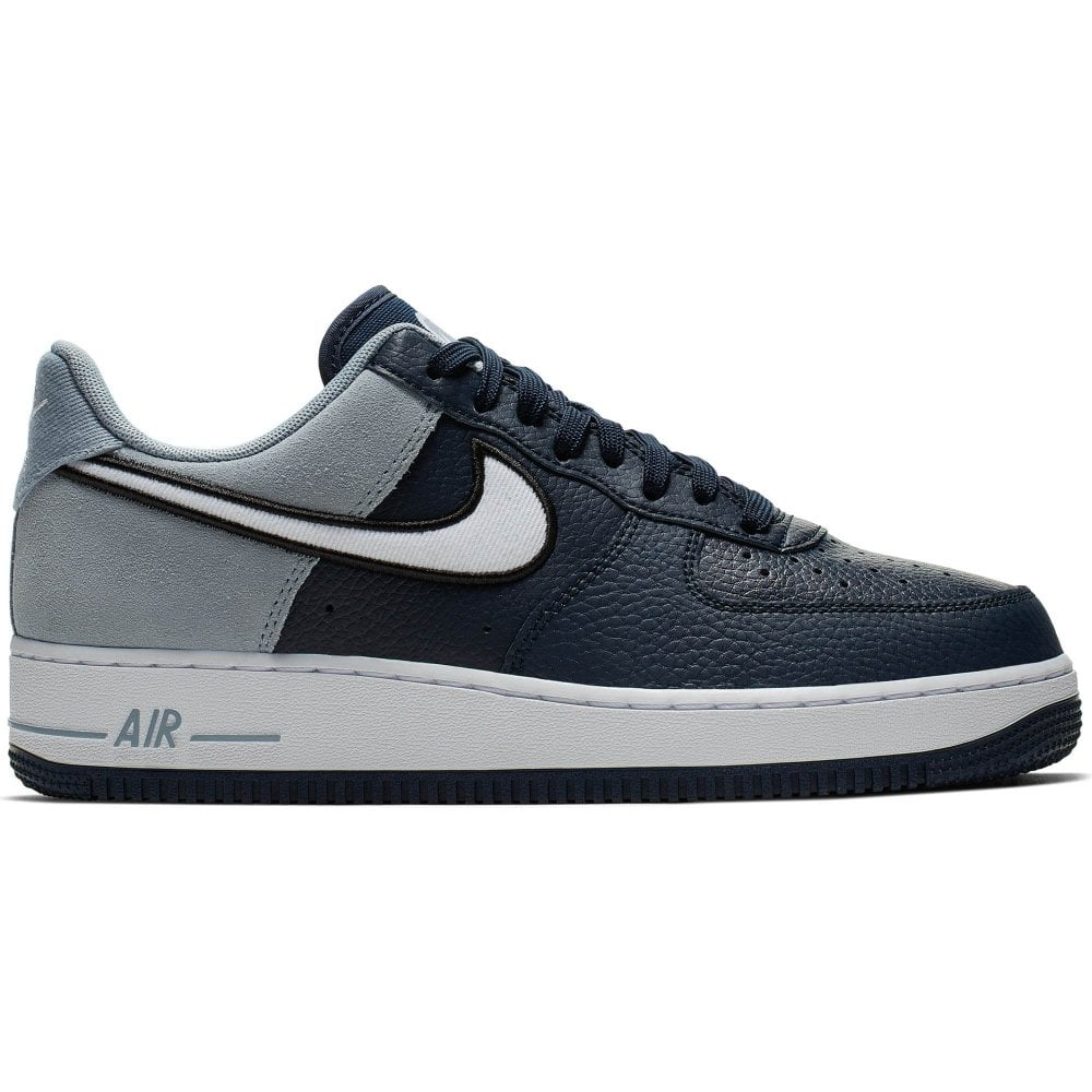 sale retailer f605f f2a87 Nike Unisex Air Force 1   039 07 LV8 1 Trainers (Obsidian