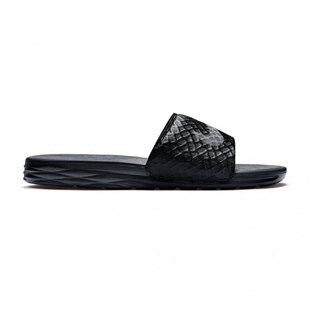 1af007141127 Nike Unisex Benassi Solarsoft Slides (Black) - Womens from Loofes UK