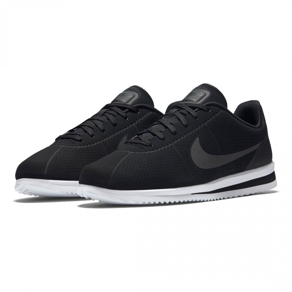 5537b7cfe2e Nike Unisex Cortez Ultra Moire Trainers (Black   White) - Mens from ...