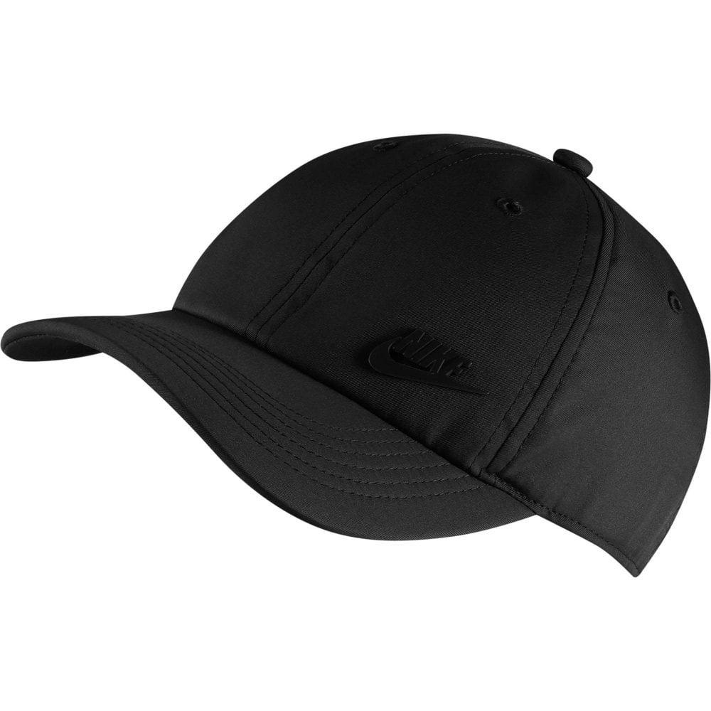 c3ab6b9cd51c NIKE Nike Unisex Kids Heritage86 Futura Metal Swoosh Cap (Black ...
