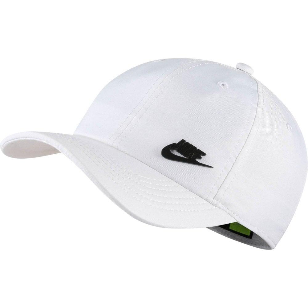 de0998998 Unisex Kids Heritage86 Futura Metal Swoosh Cap (White)