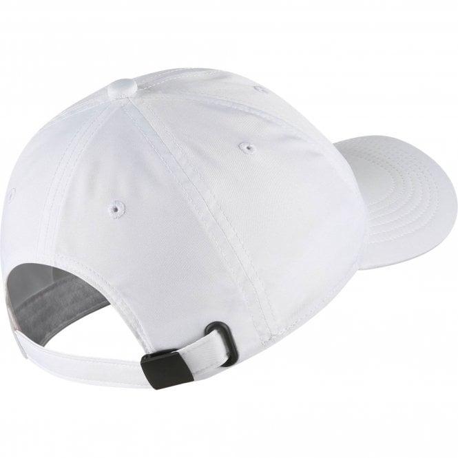 555a63f3e51f Nike Unisex Kids Heritage86 Futura Metal Swoosh Cap (White) - Kids ...