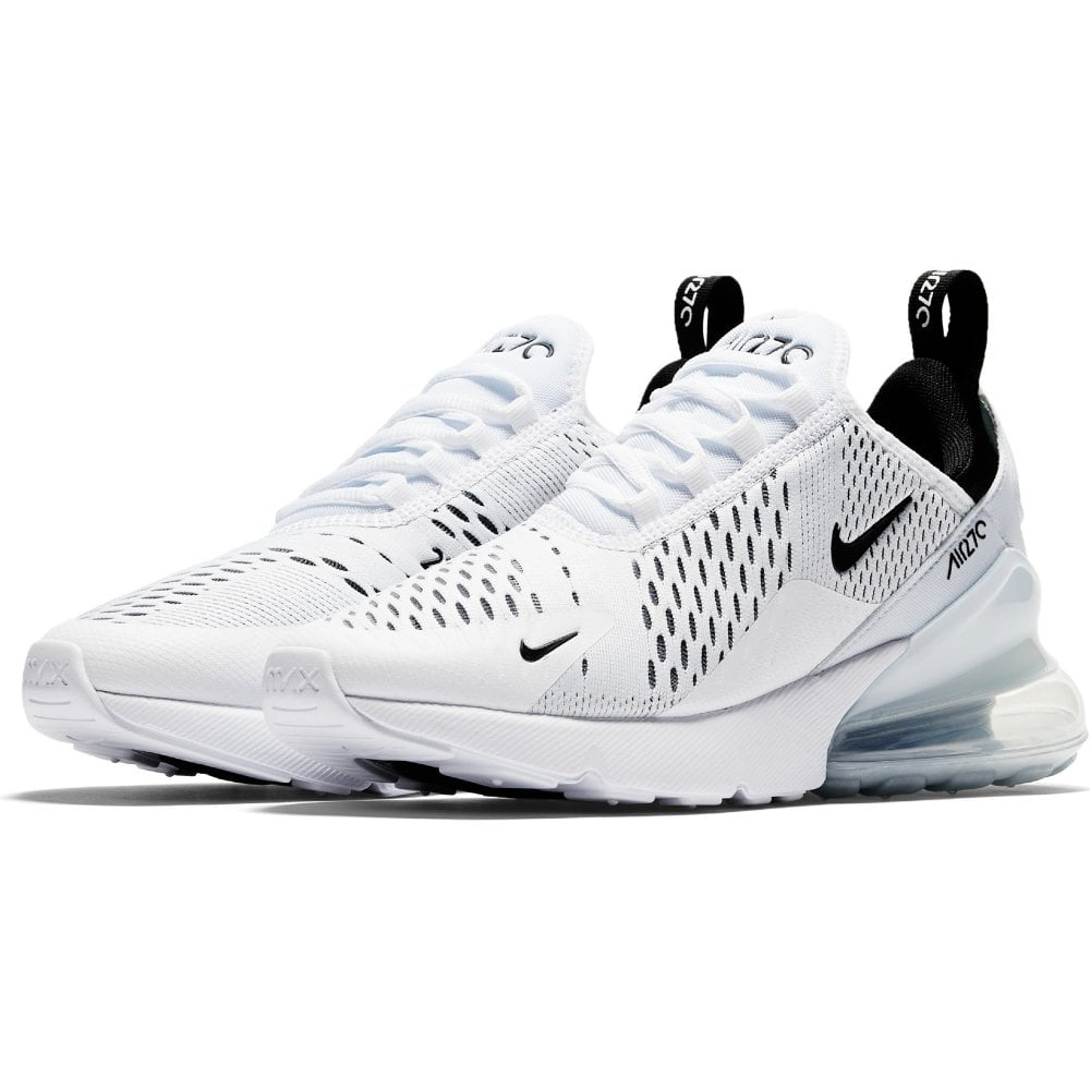 differently f027a 2ecf6 Womens Air Max 270 Trainers (White/Black)