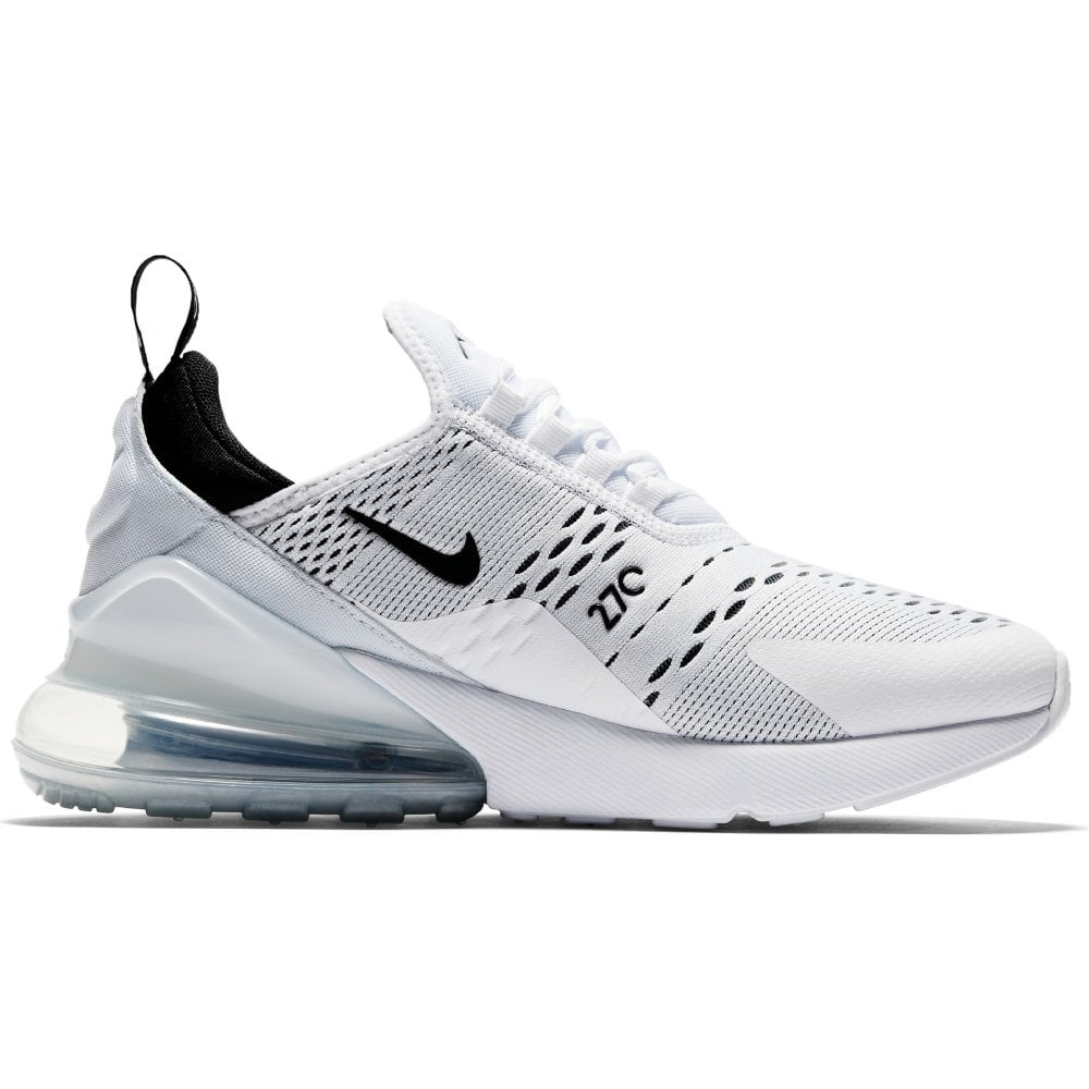 differently 48bfc 1f3c7 Womens Air Max 270 Trainers (White/Black)