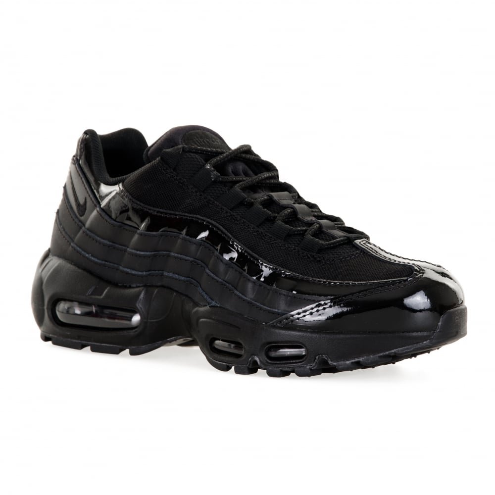 black air max 95 trainers