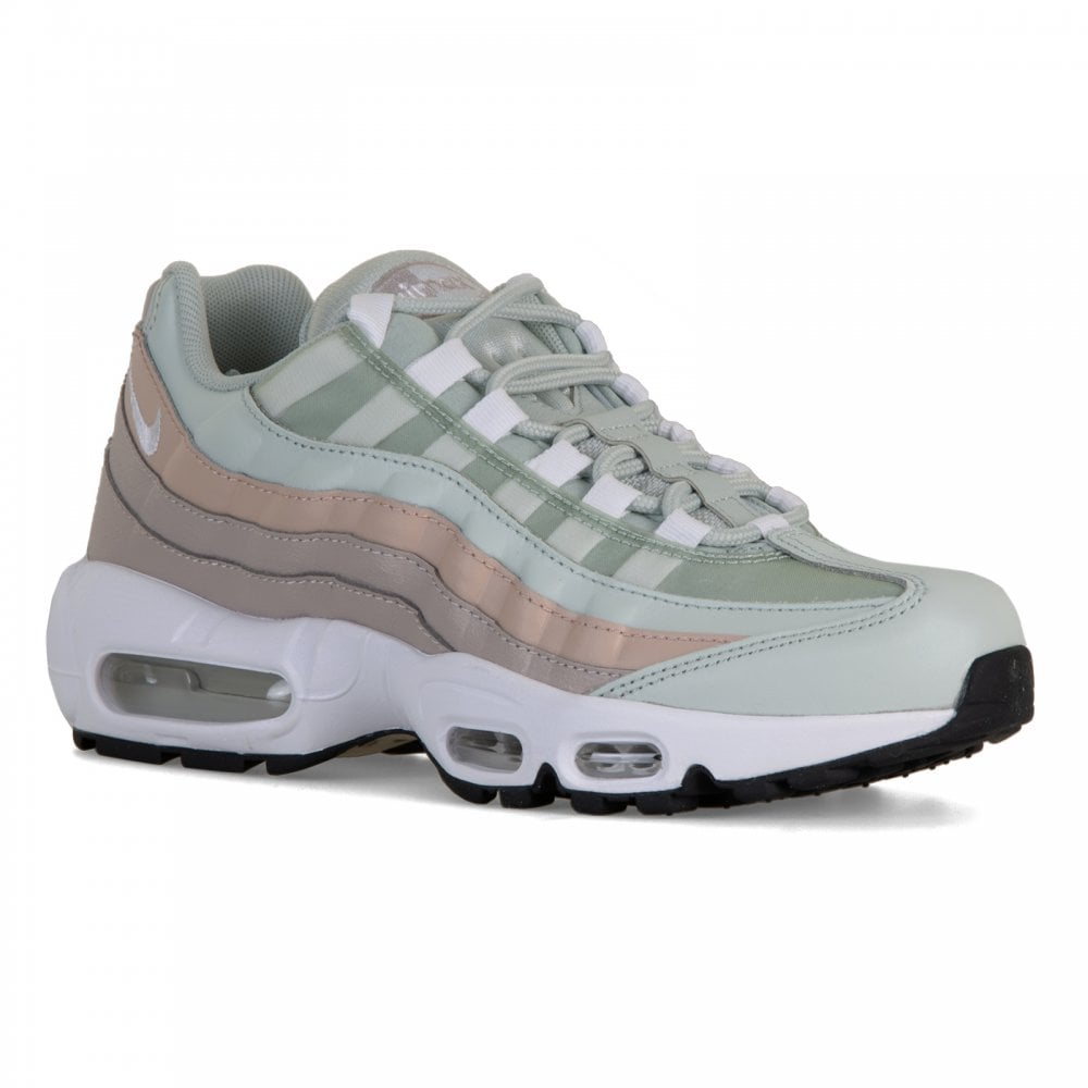 buy popular 66b57 9f3c7 Nike Womens Air Max 95 Trainers (Light Silver)
