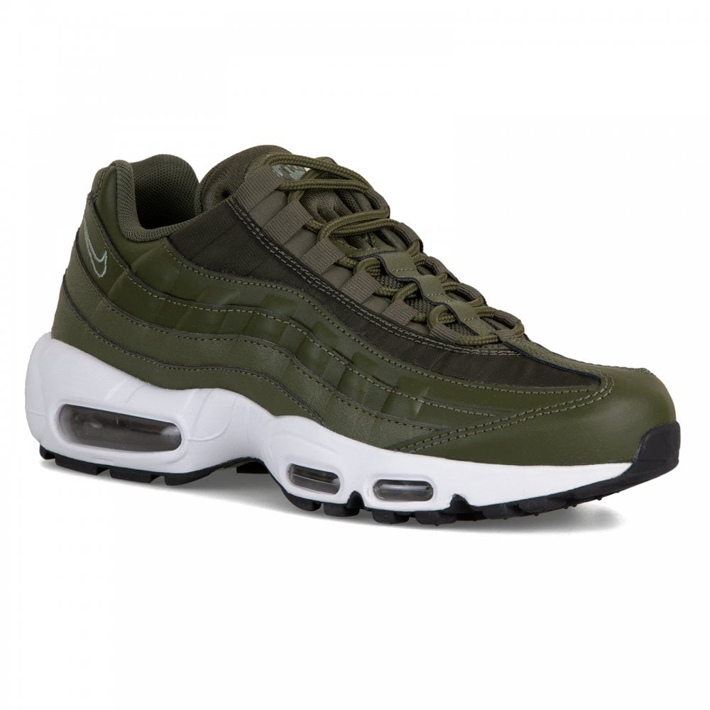 superior quality 3fffd f54e3 NIKE Nike Womens Air Max 95 Trainers (Olive)
