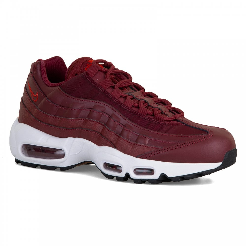 16cafbd09b NIKE Nike Womens Air Max 95 Trainers (Red) - Womens from Loofes UK