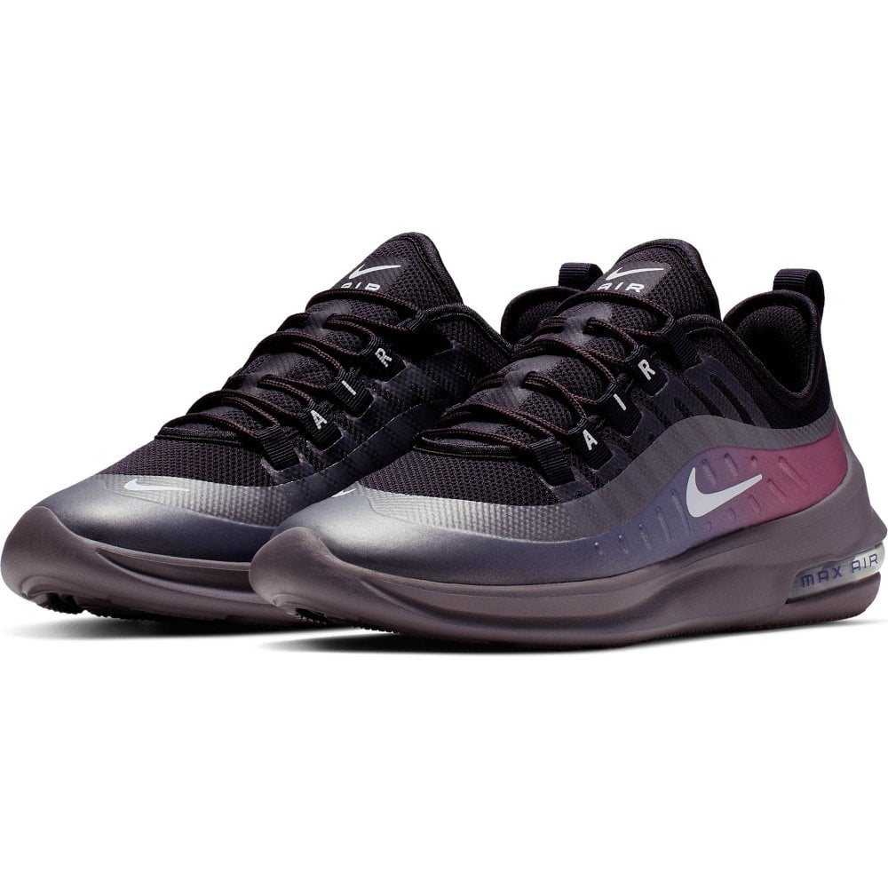 e329aa209ffc NIKE Nike Womens Air Max Axis Premium Trainers (Grey / Purple ...