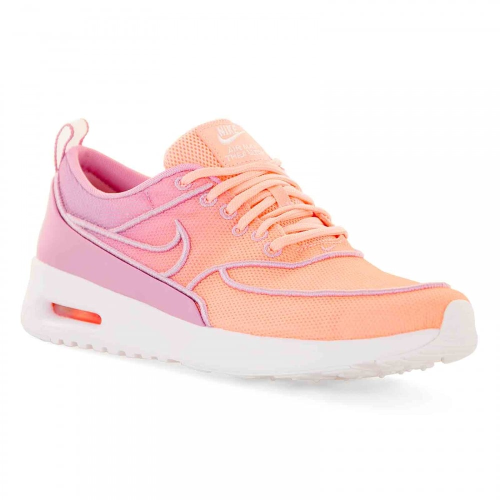 best loved 31d2e 5dfc5 Nike Womens Air Max Thea Ultra Trainers (Purple Orange)
