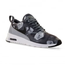 Nike Womens Air Thea Print 416 Trainers (Black/Wolf Grey)