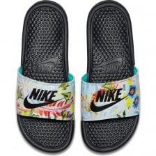 cb7ba15f3c73 Nike Womens Benassi JDI Floral Print Slide (Black   Multi)