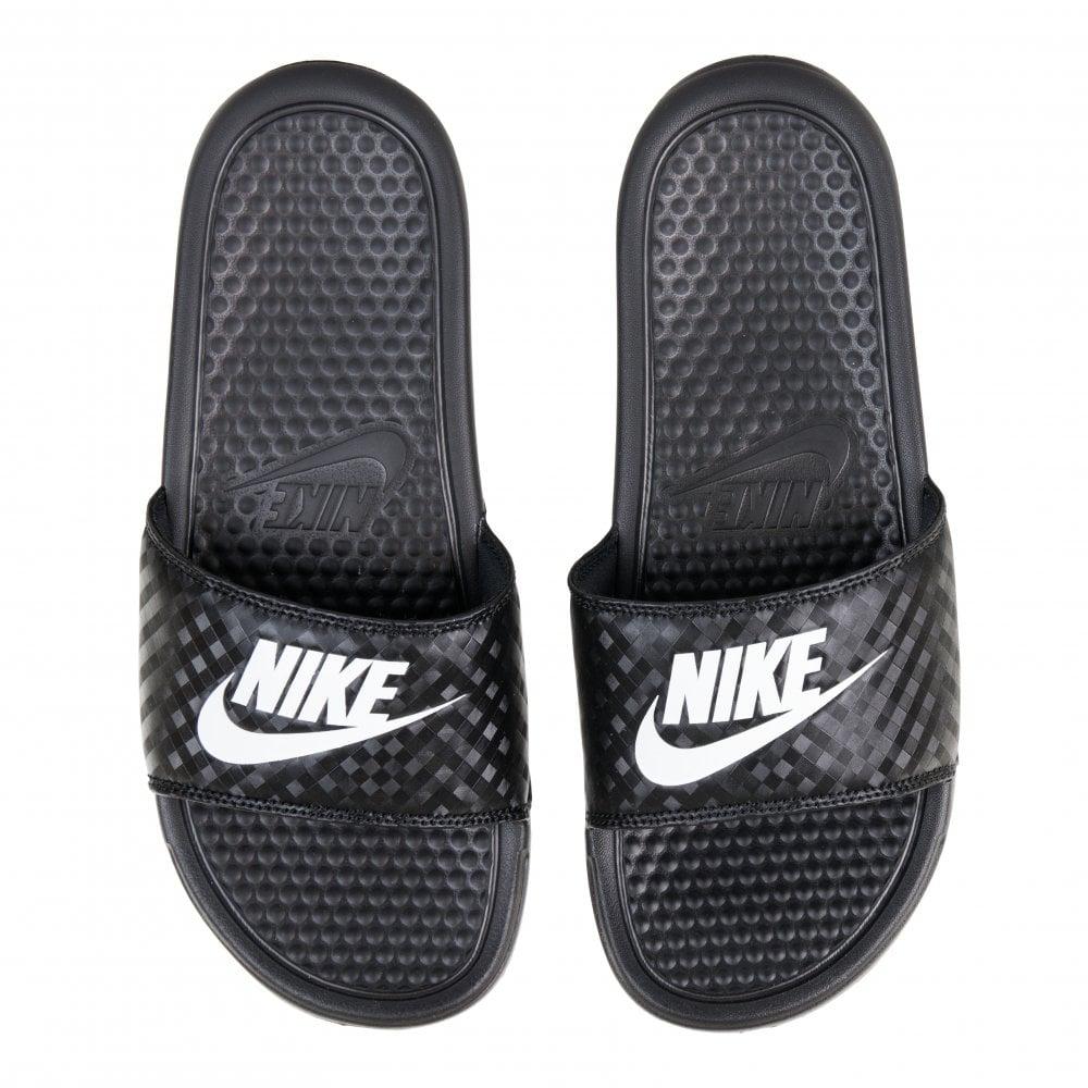 9ba73b3b Womens Benassi JDI Slide Flip Flops (Black)