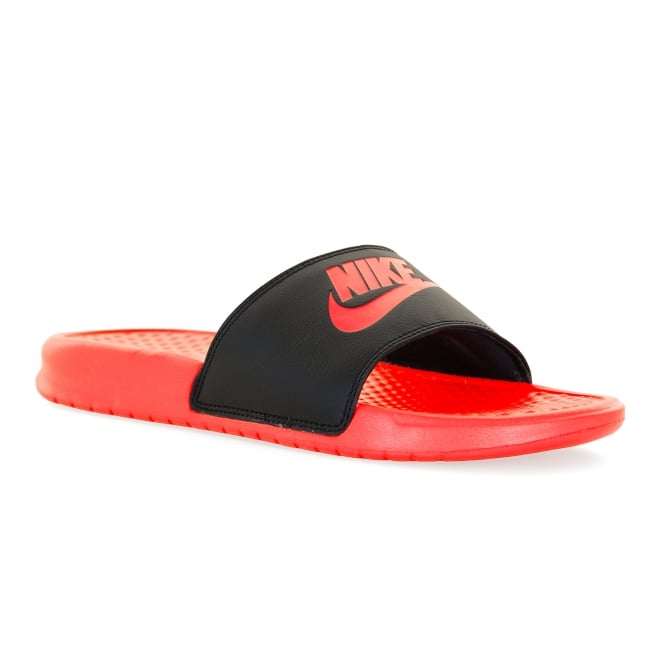 half off 6eed1 5c0b6 nike womens benassi jdi slide flip flops pink   sandals from loofes uk