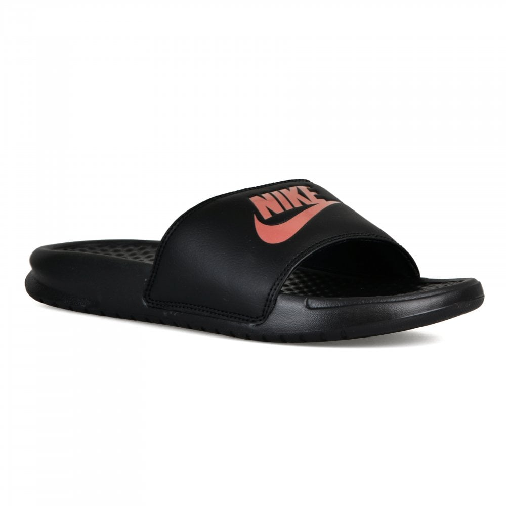 879d283d0f9e Nike Womens Benassi JDI Slides (Black) - Womens from Loofes UK