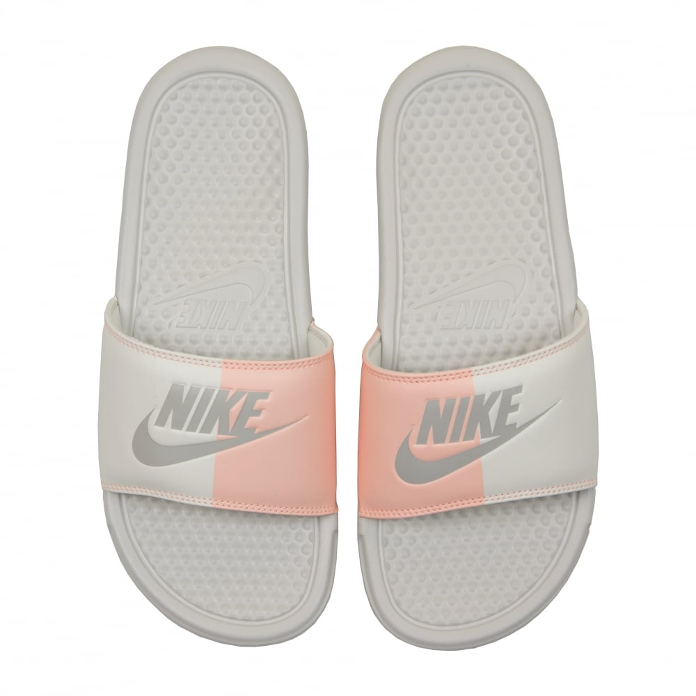 Nike Womens Benassi JDI Slides (Bone Pink) - Womens from Loofes UK 677931fc91a3