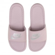 Nike Womens Benassi JDI Slides (Rose)