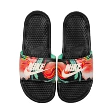 Nike Womens Benassi Print Slide (Black/Multi)