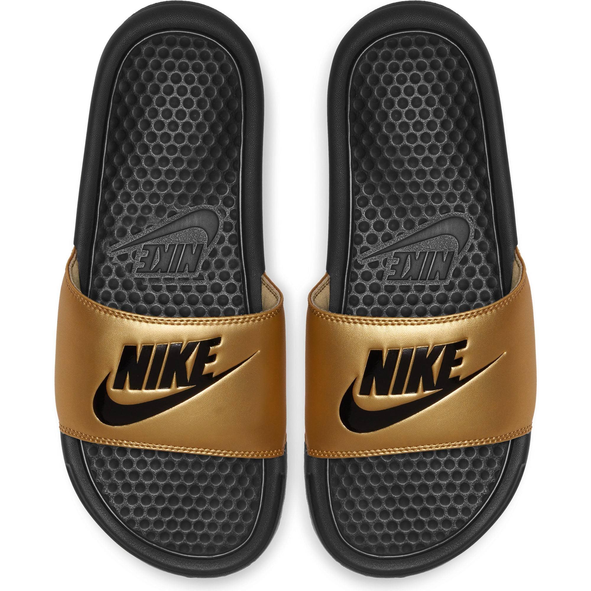 NIKE Nike Womens Benassi Sliders (Black