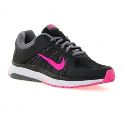 Nike Womens Dart 12 Trainers (Black/Pink Blast/Grey)