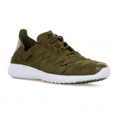 Nike Womens Juvenate Woven 316 Trainers (Olive/White)