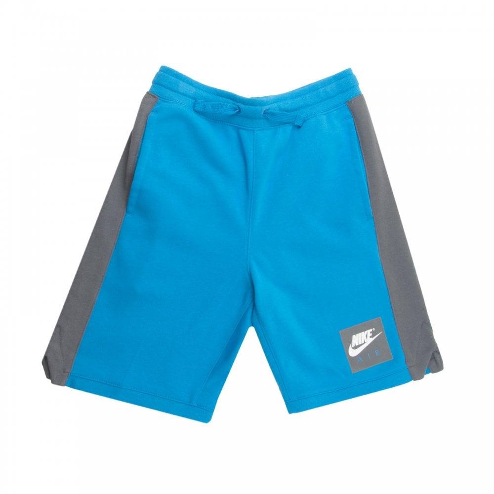 225bdffe59e4 NIKE Nike Youths Air Fleece Shorts (Blue) - Kids from Loofes UK