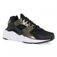 Nike Youths Air Huarache Run 417 Trainers (Black/Gold)