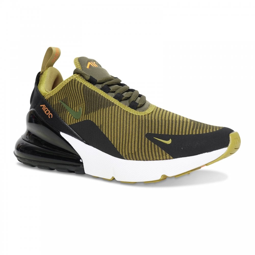 NIKE Nike Youths Air Max 270 Jacquard Trainers (Olive) - Kids from ... 78b0d2b94