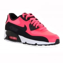 Nike Youths Air Max 90 Girls Trainers (Pink)