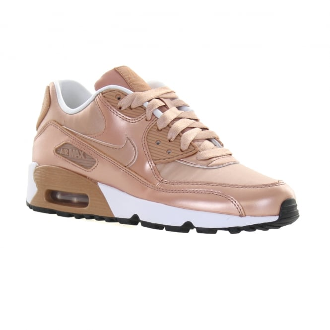 19886b2680 nike youths air max 90 metallic bronze trainers kids from loofes uk