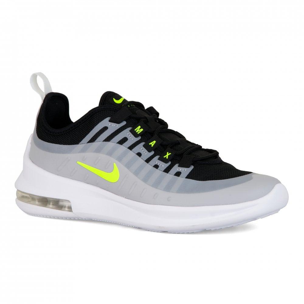 san francisco 05573 c007b Nike Youths Air Max Axis Trainers (Grey   Yellow)