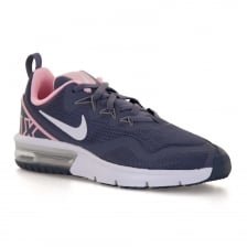 Nike Youths Air Max Fury Trainers (Grey/Pink)