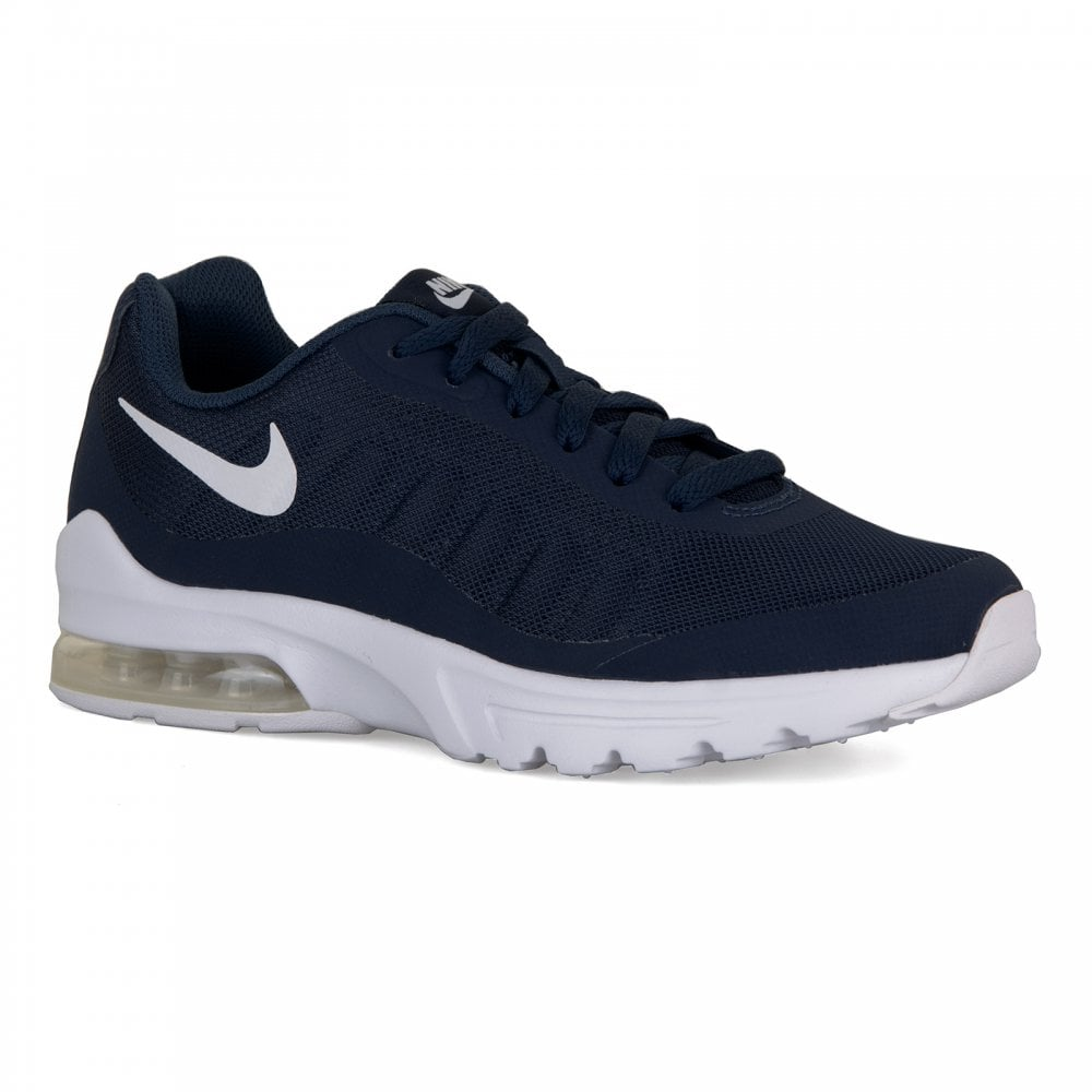 on feet images of big discount pick up Youths Air Max Invigor Trainers (Navy)