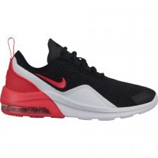 905641eb3cfa0 Nike Youths Air Max Motion 2 Trainers (Black / White / Red)
