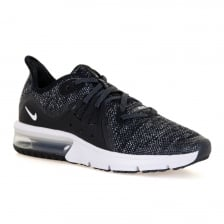 Nike Youths Air Max Sequent 3 118 Trainers (Black)