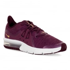 Nike Youths Air Max Sequent 3 118 Trainers (Bordeaux)