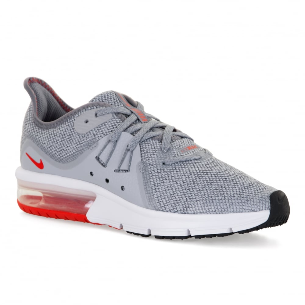 nike youths air max sequent 3 118 trainers grey kids from loofes uk. Black Bedroom Furniture Sets. Home Design Ideas