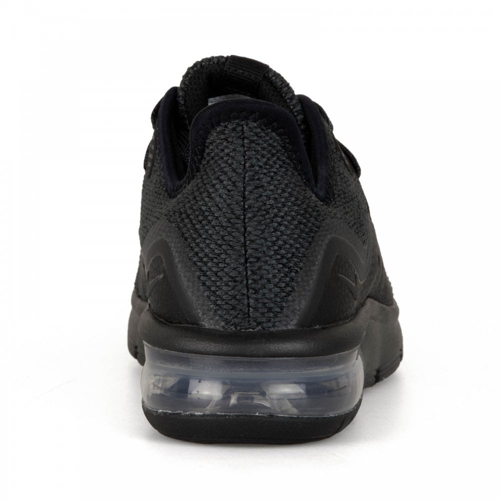 6134919df8 Nike Youths Air Max Sequent 318 Trainers (Black/Grey) - Kids from ...